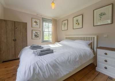 Gardener's Cottage bedroom