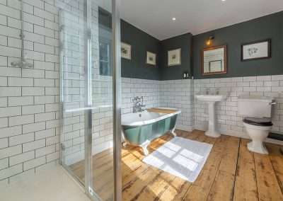 Gardener's Cottage bathroom