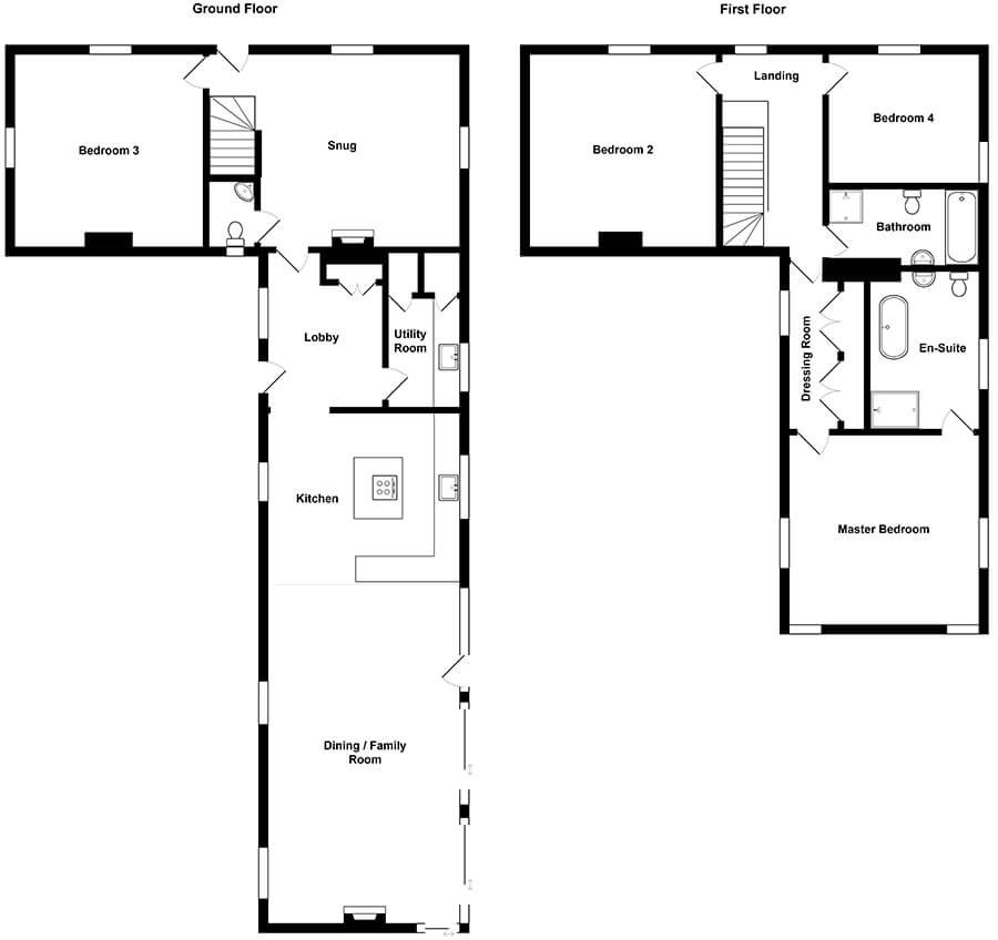 Fring Gardeners Cottage Floorplan
