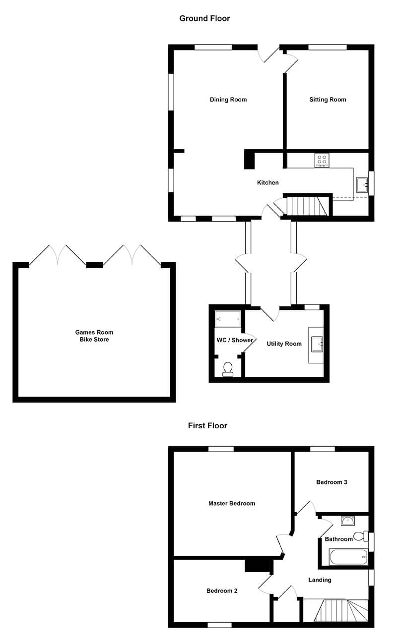 Fring Park Cottage Floorplan