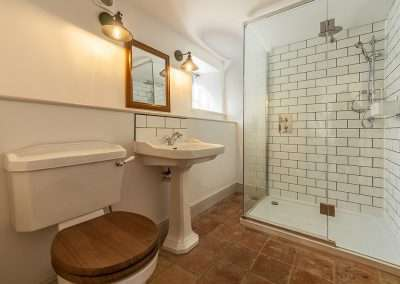 En-suite shower room at Market Square House, Fring, Norfolk