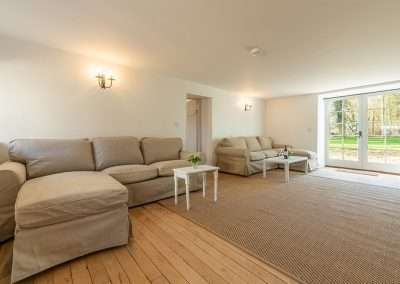 The living room at Market Square House, spacious holiday accommodation for 8