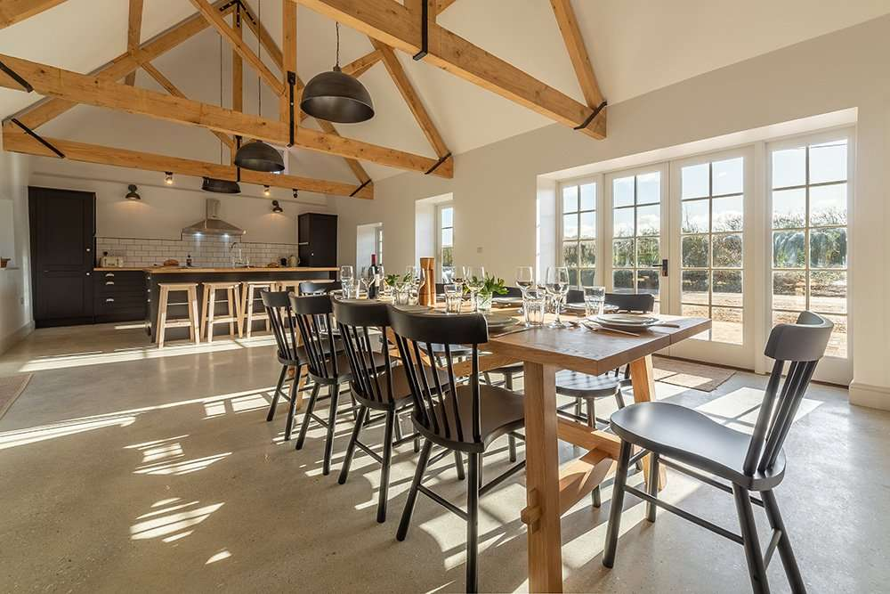 Market Square House kitchen dining area, perfect for family meal